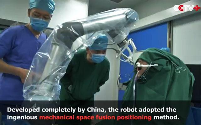 В Китае робот-имплантолог успешно установил пациенту 2 имплантанта